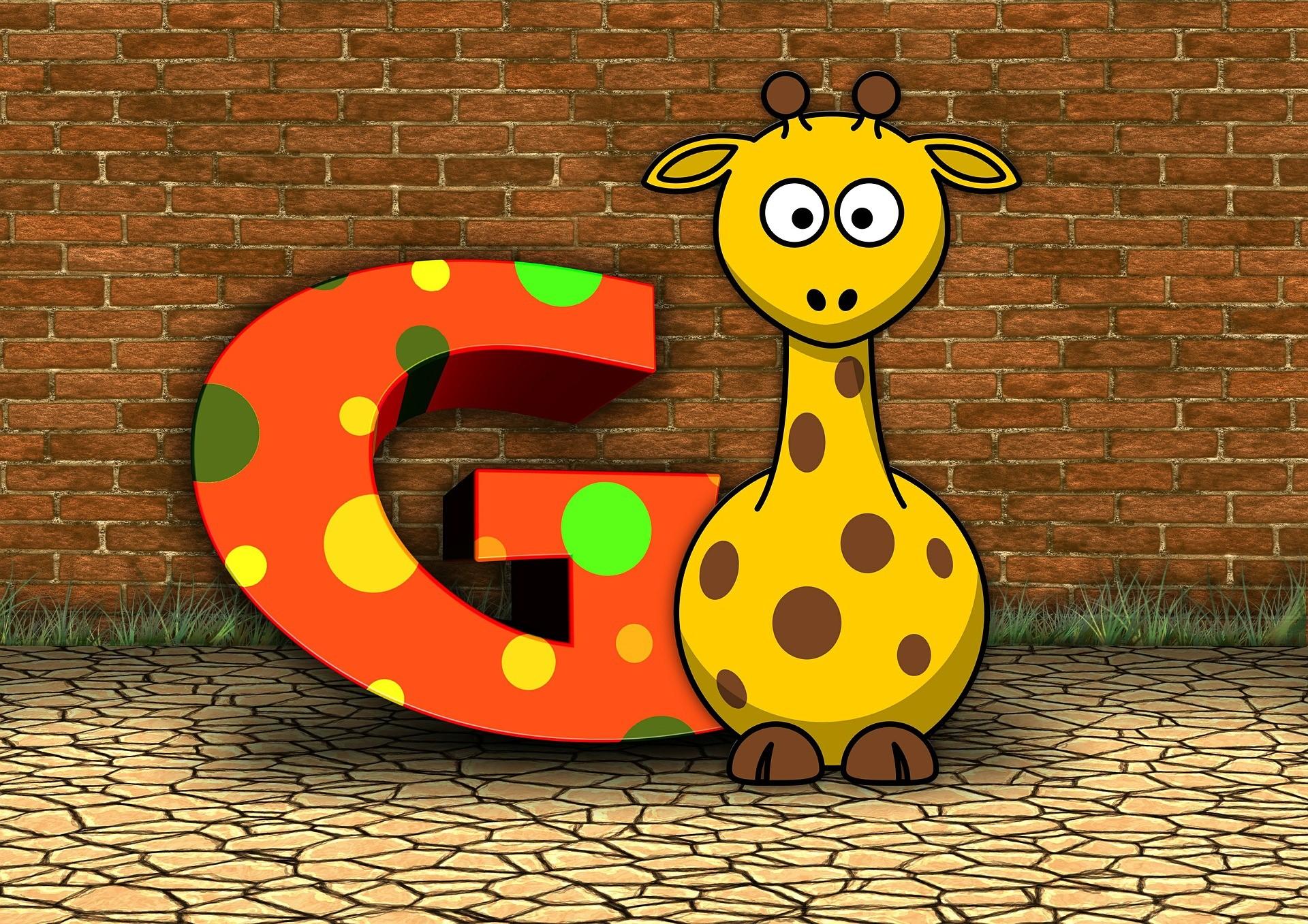 GはGiraffeのG